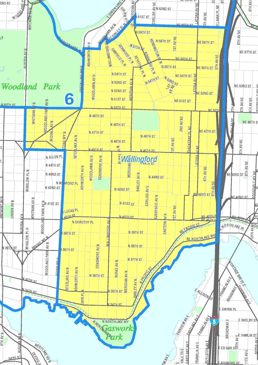 seattle neighborhood guide map bnhspinecom