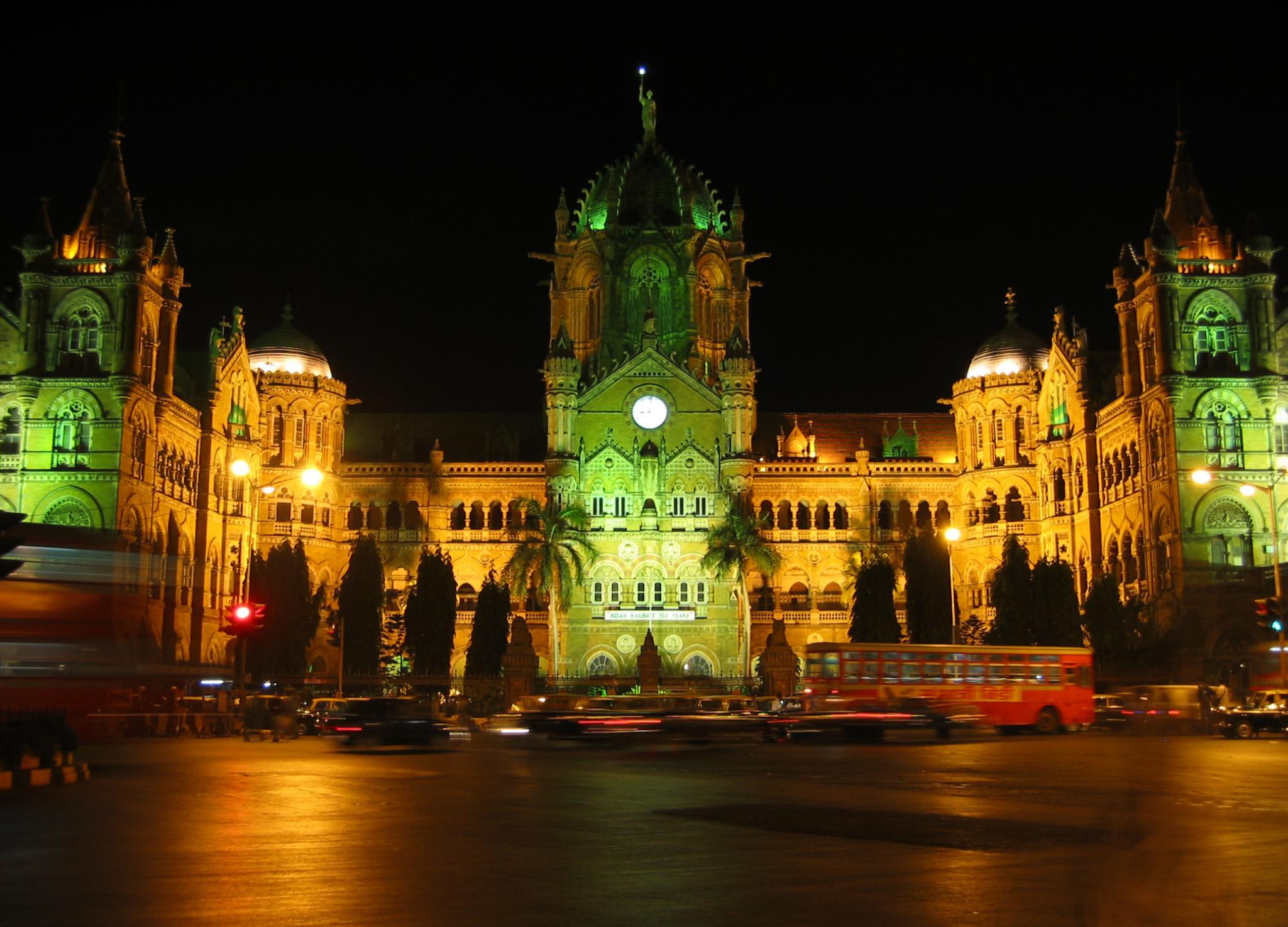 File Shivaji Terminus Bombay Mumbai Jpg Wikimedia Commons