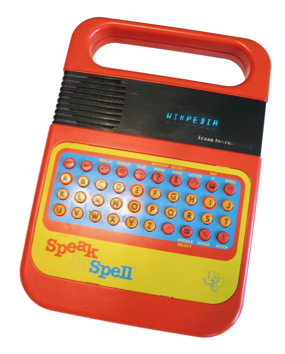 Speak & Spell (toy) - Wikipedia