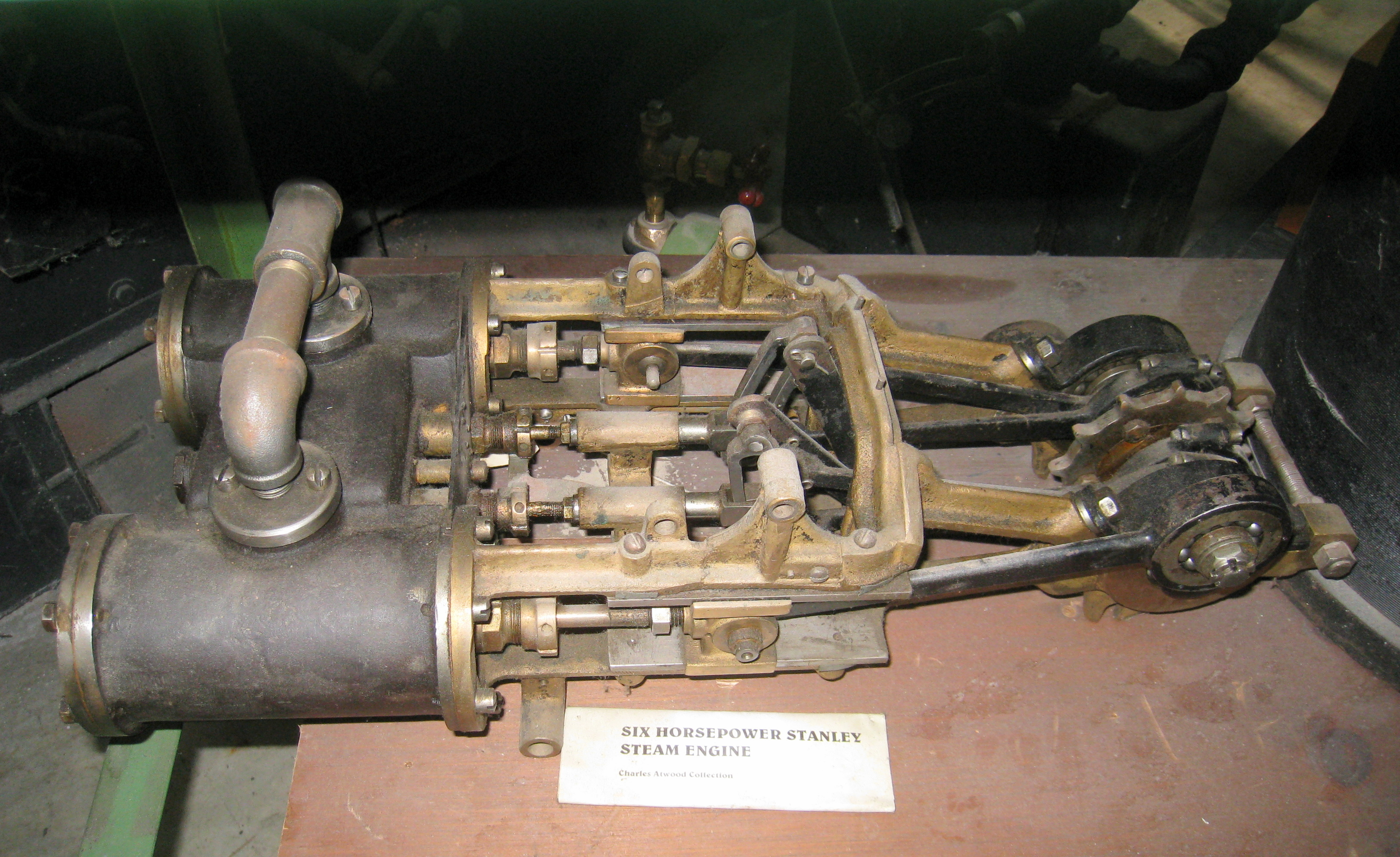 Stanley Steam Car Engine