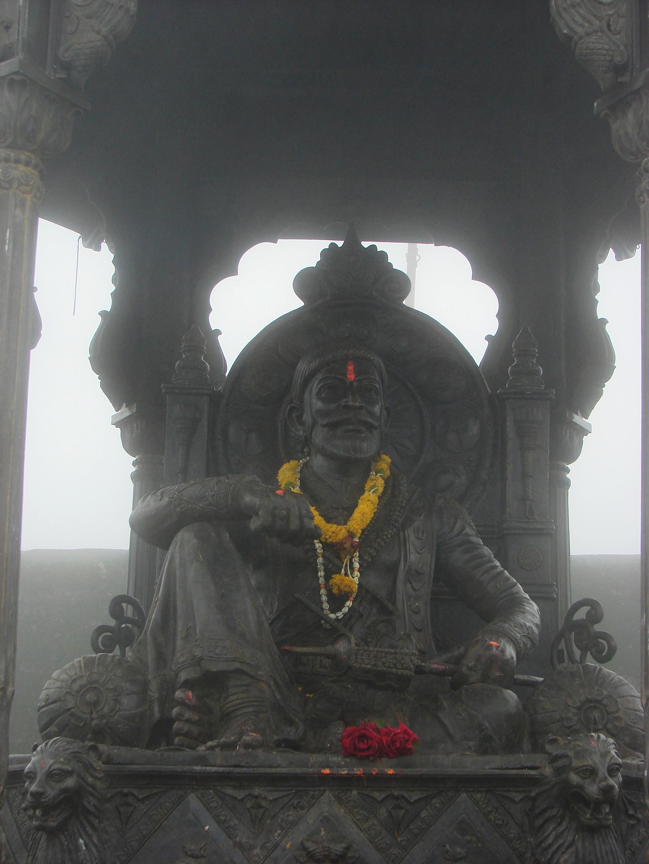 Filestatue Of Shivaji Maharajjpg Wikimedia Commons