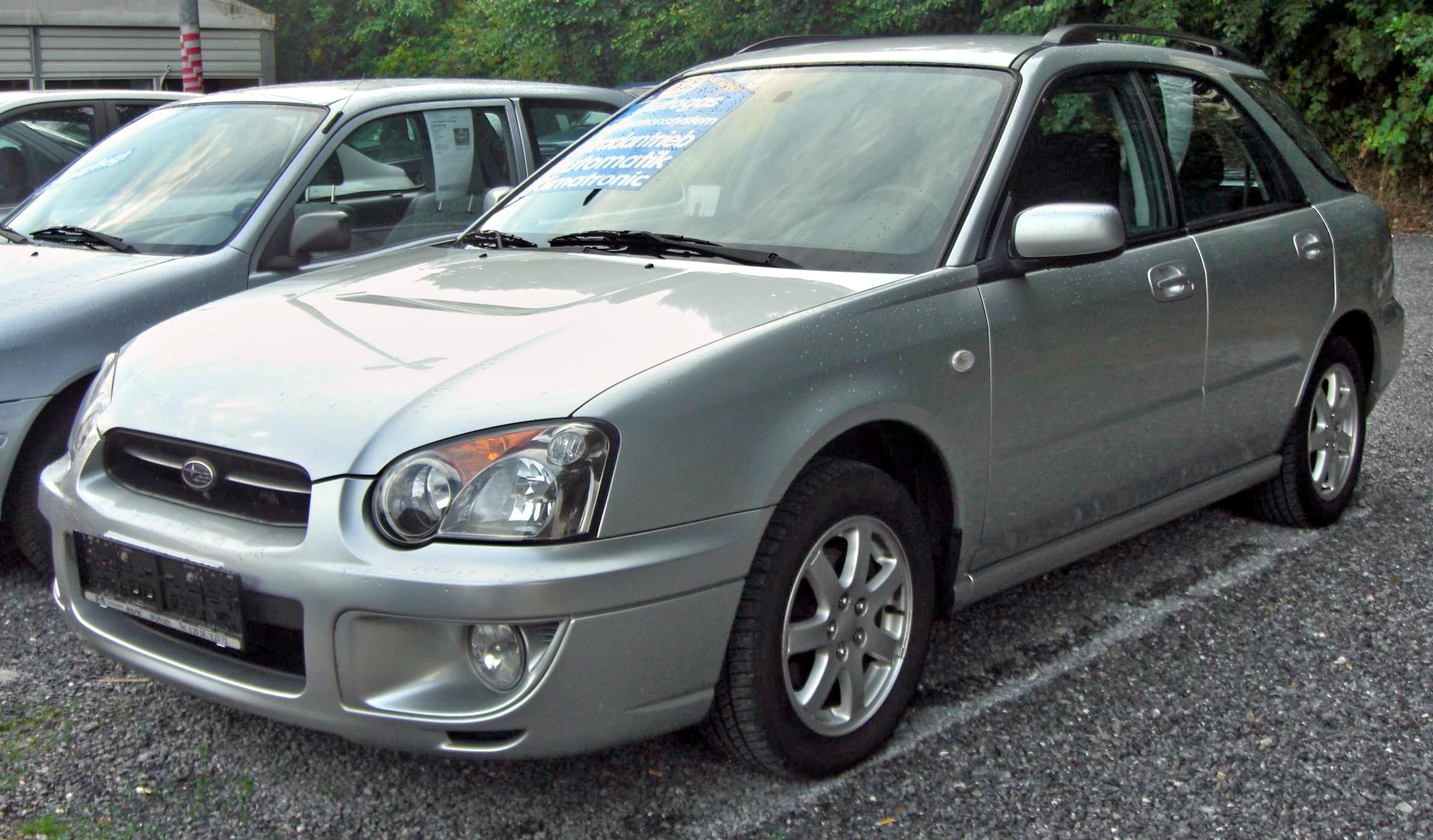 File Subaru Impreza Sportkombi Gd C E 2003 2005 Front Jpg