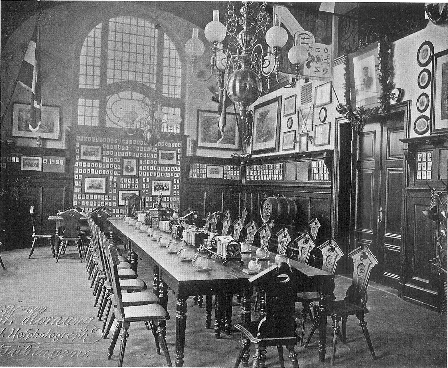 Große Kneipe Im Schwabenhaus Um 1900