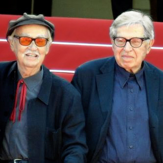 Vittorio (left) and Paolo Taviani, at the [[2015 Cannes Film Festival]]