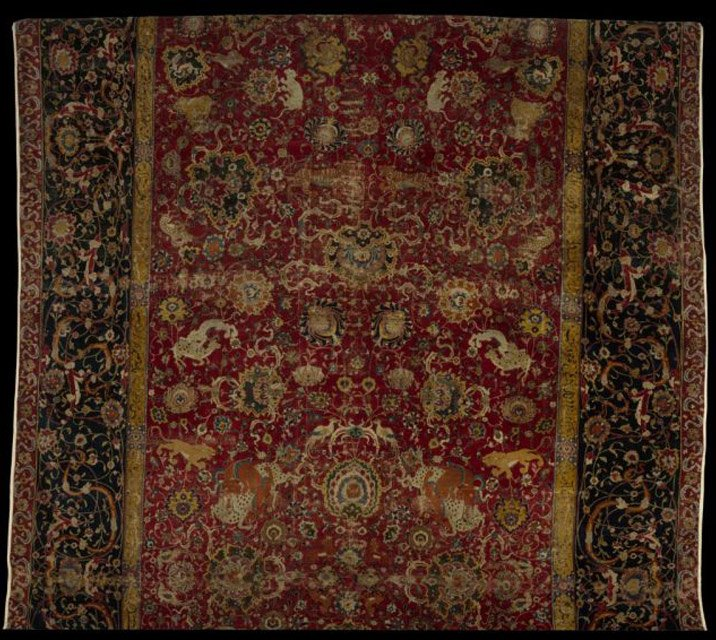 File:The Emperor's Carpet (detail), Second Half Of 16th