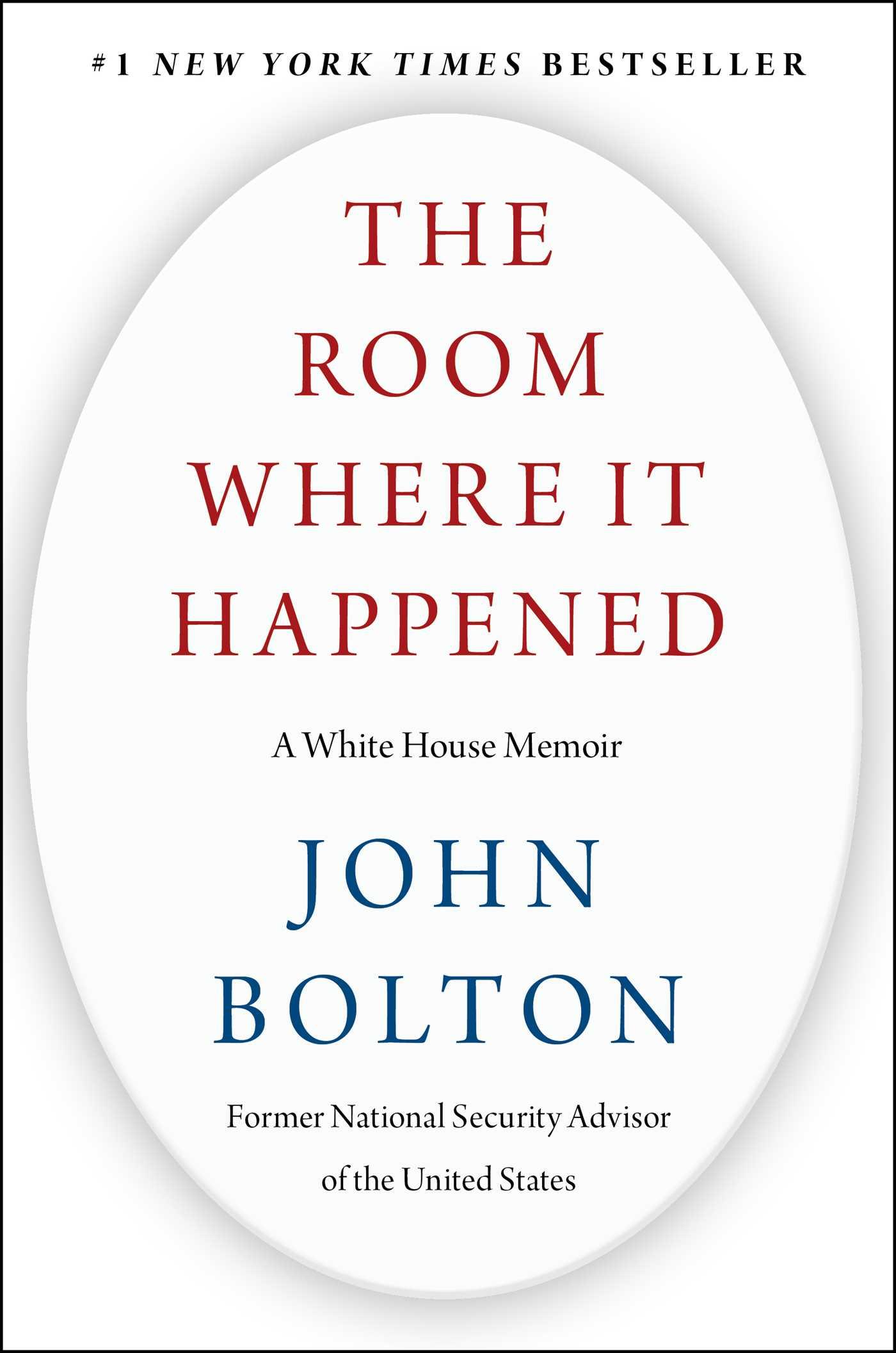 Livro de John Bolton