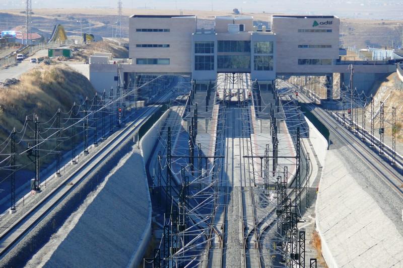 Estación de tren de Segovia-Guiomar