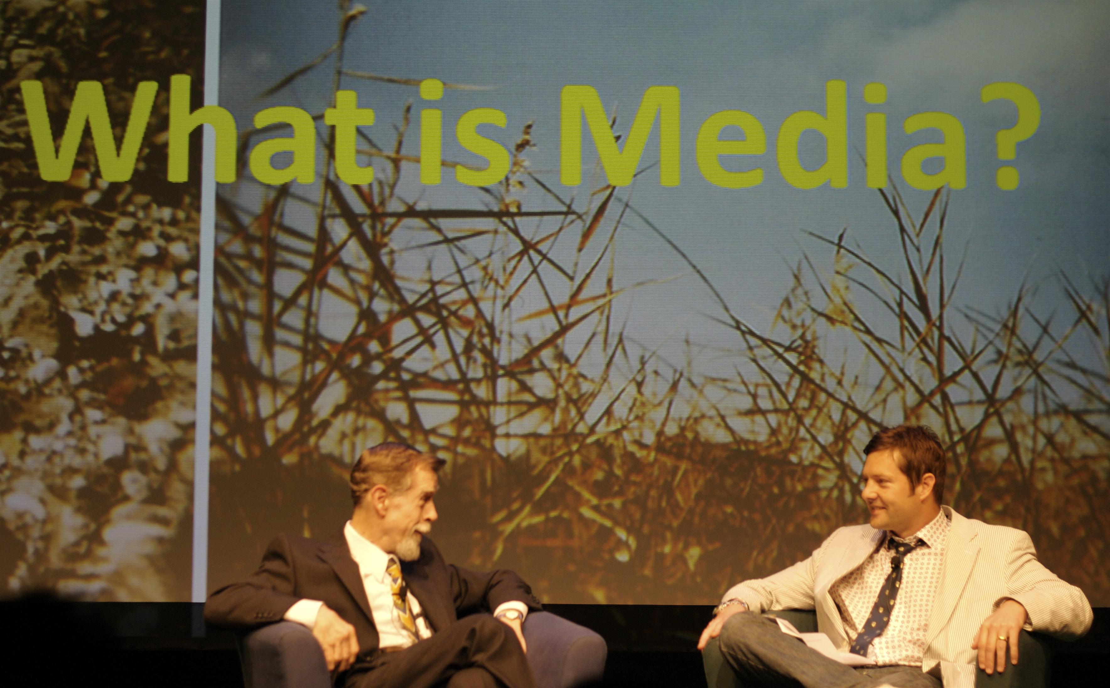 Michael Tippett rozmawa z Eric McLuhanem - Vancouver BC 2008.