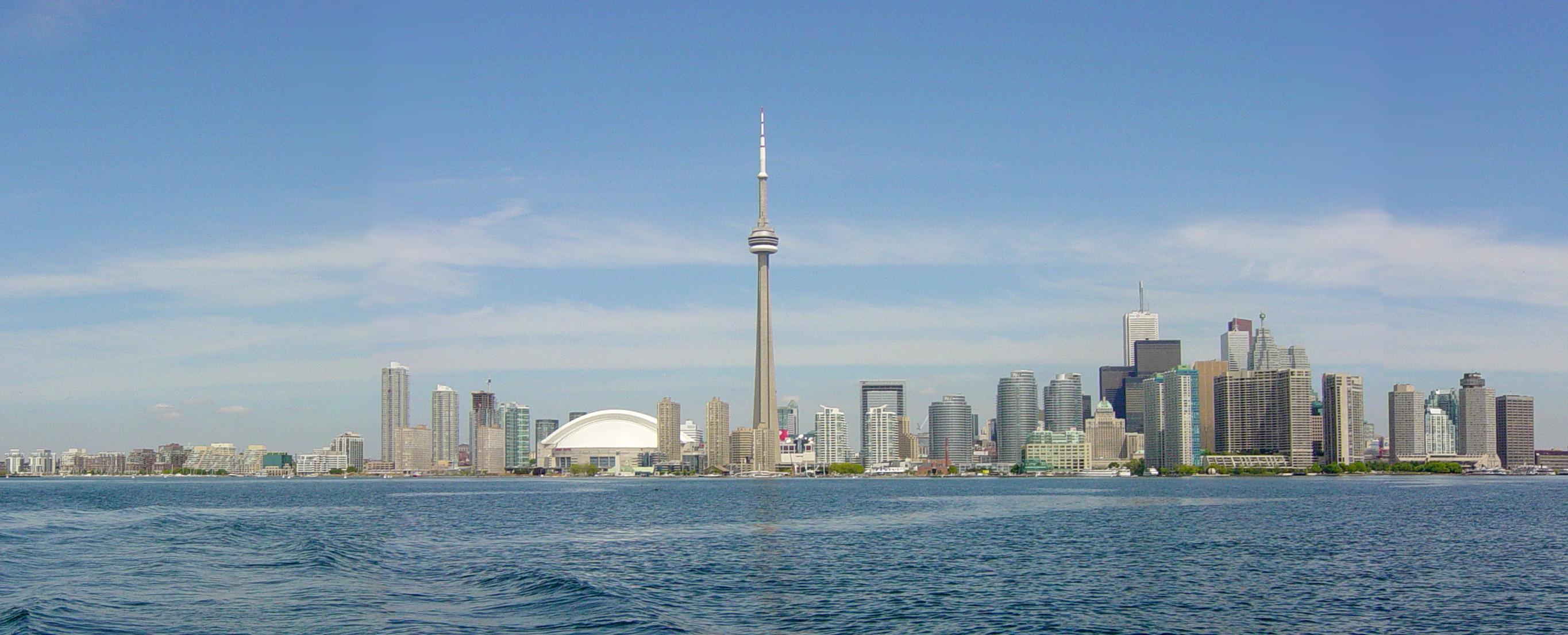 Toronto-Ontario, Canada, home of the NBA's Toronto Raptors at Jamaal Al-Din's Hoops 227!