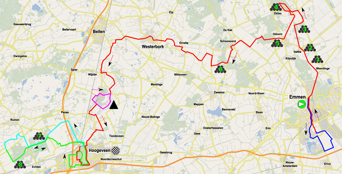 Tour de Drenthe femenino 2018 Wikipedia la enciclopedia libre