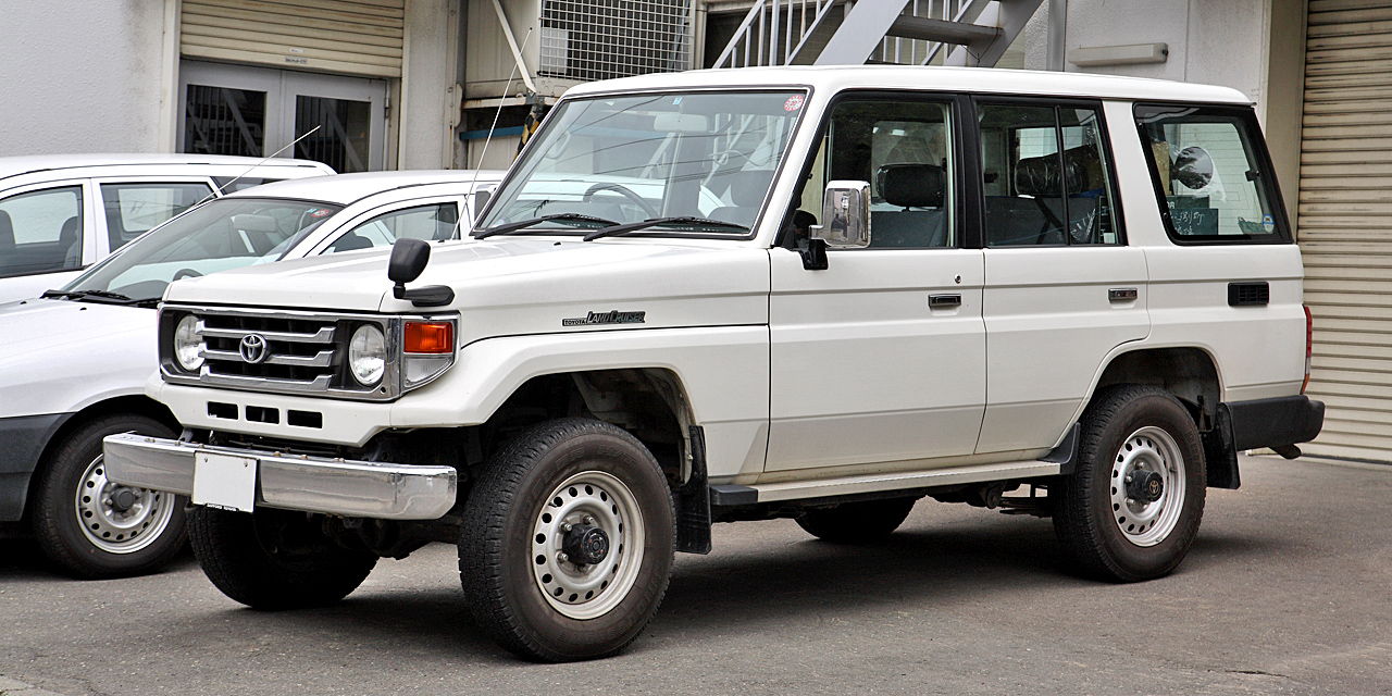 Toyota Land Cruiser J70 Wikipedia Mega