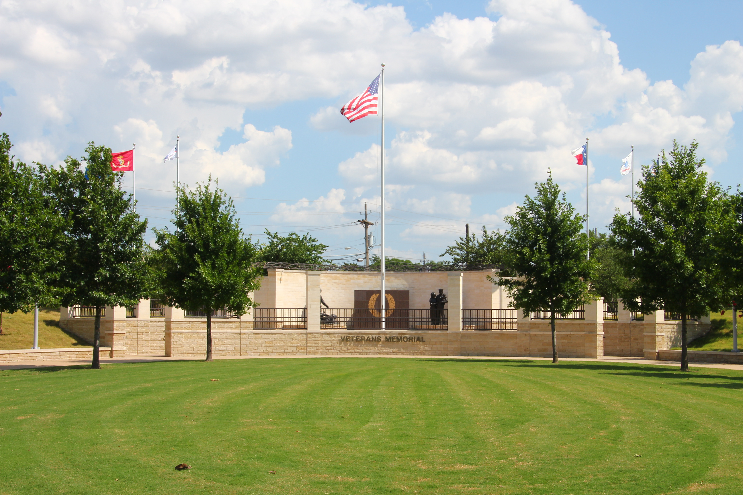 Veterans Memorial Park in Plano, TX