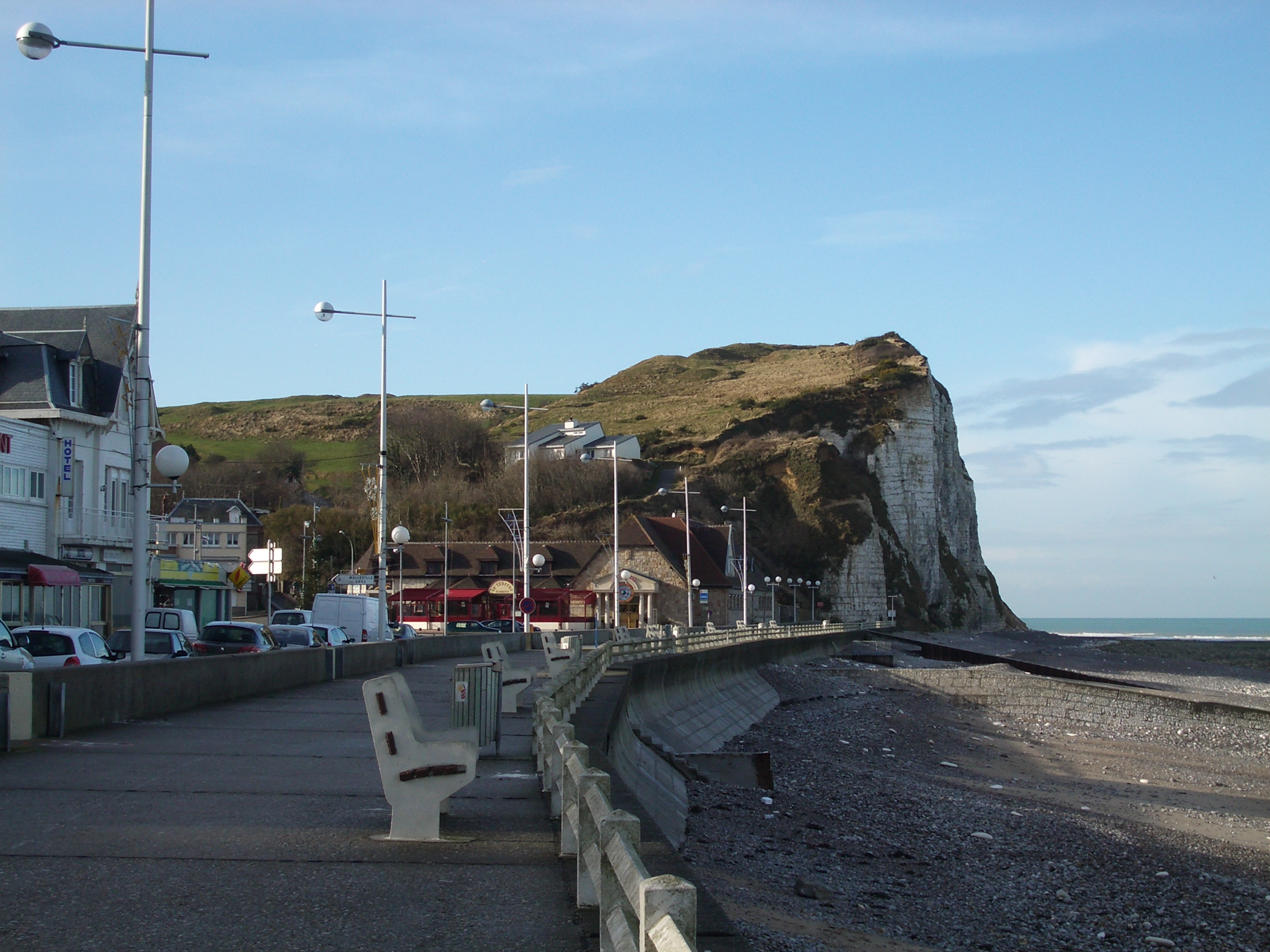 The cliffs of Veulettes