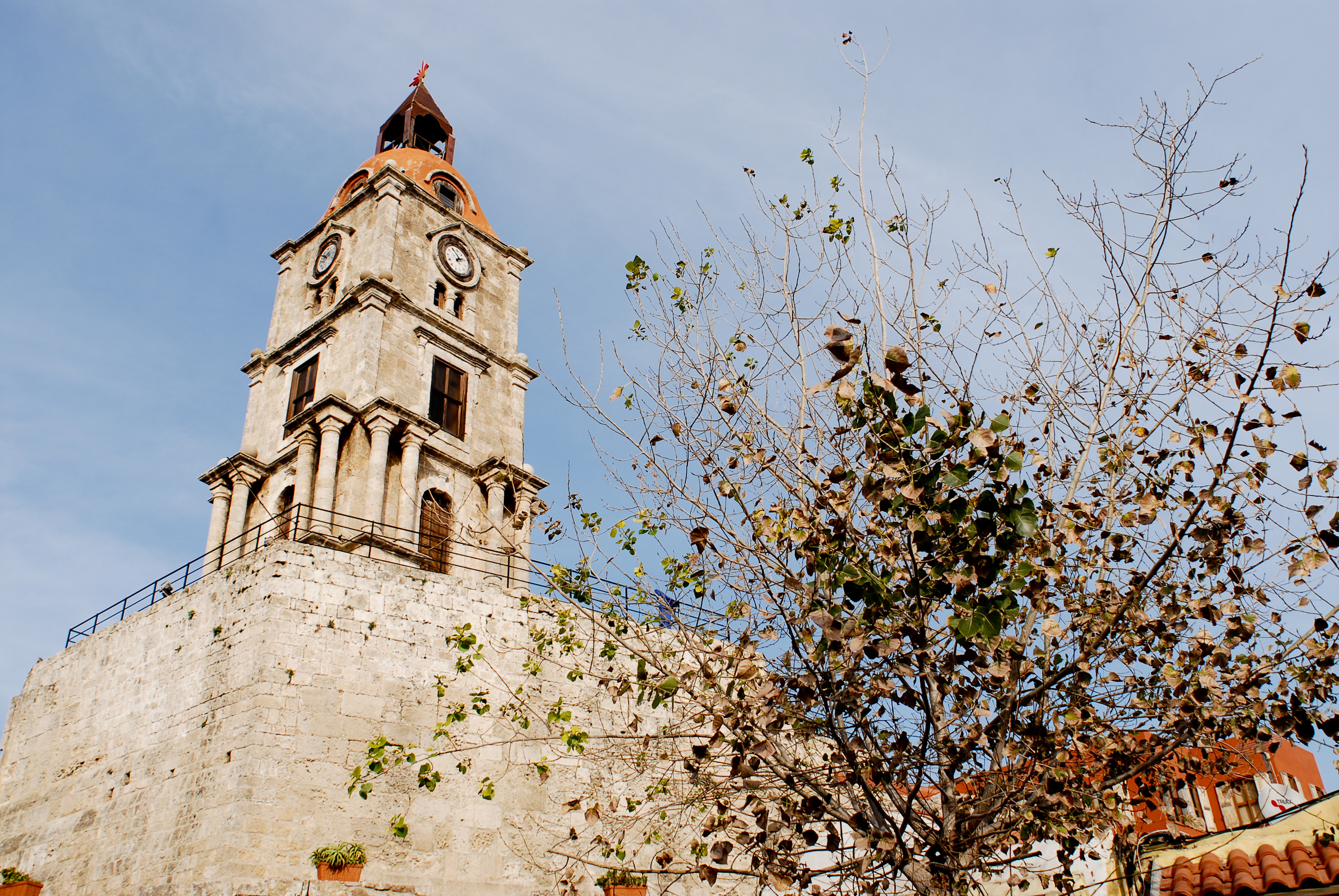 File:View of the Roloi (Clock Tower) in the Old Town ...