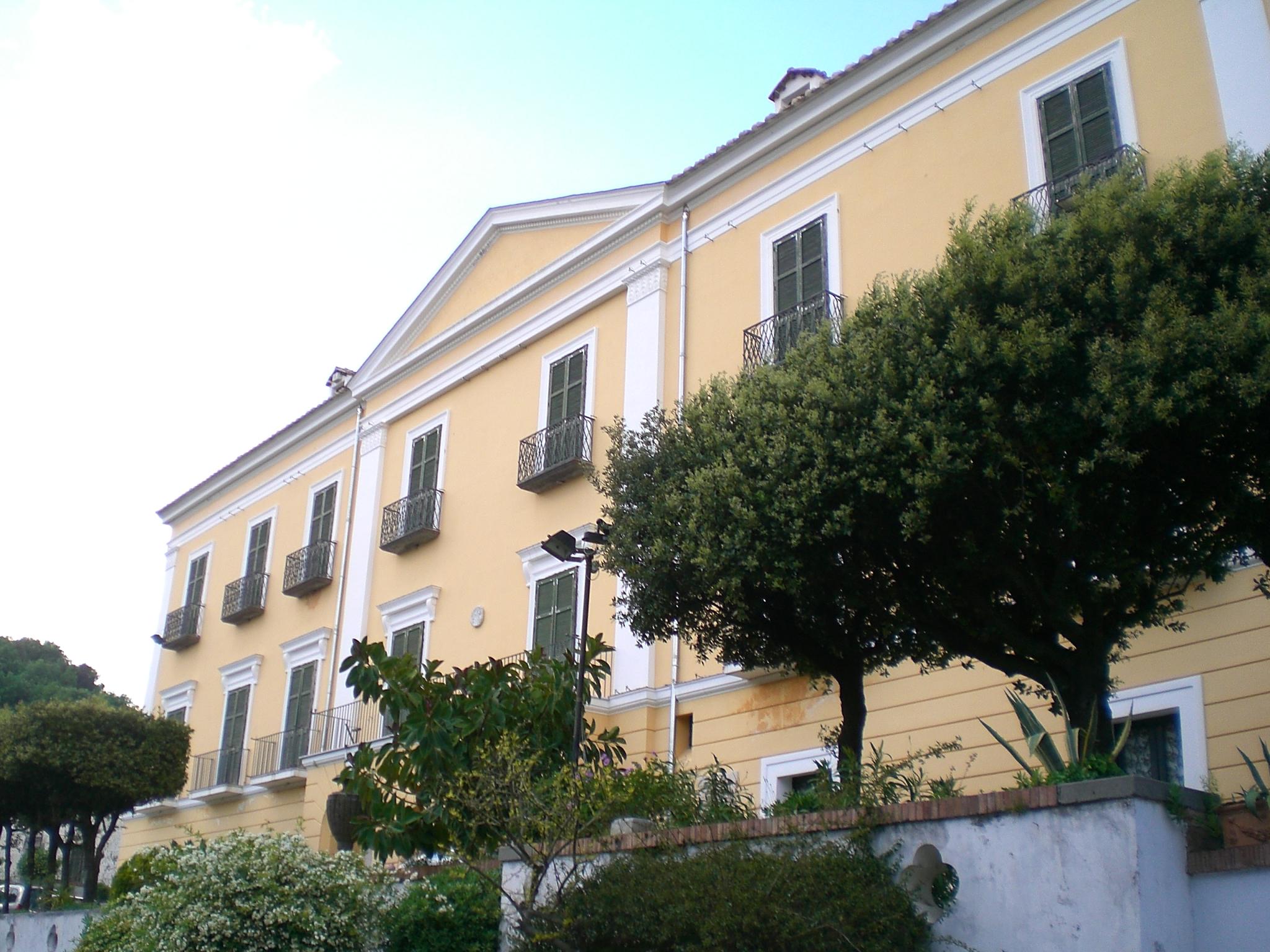 Villa Divina Vietri Piscina
