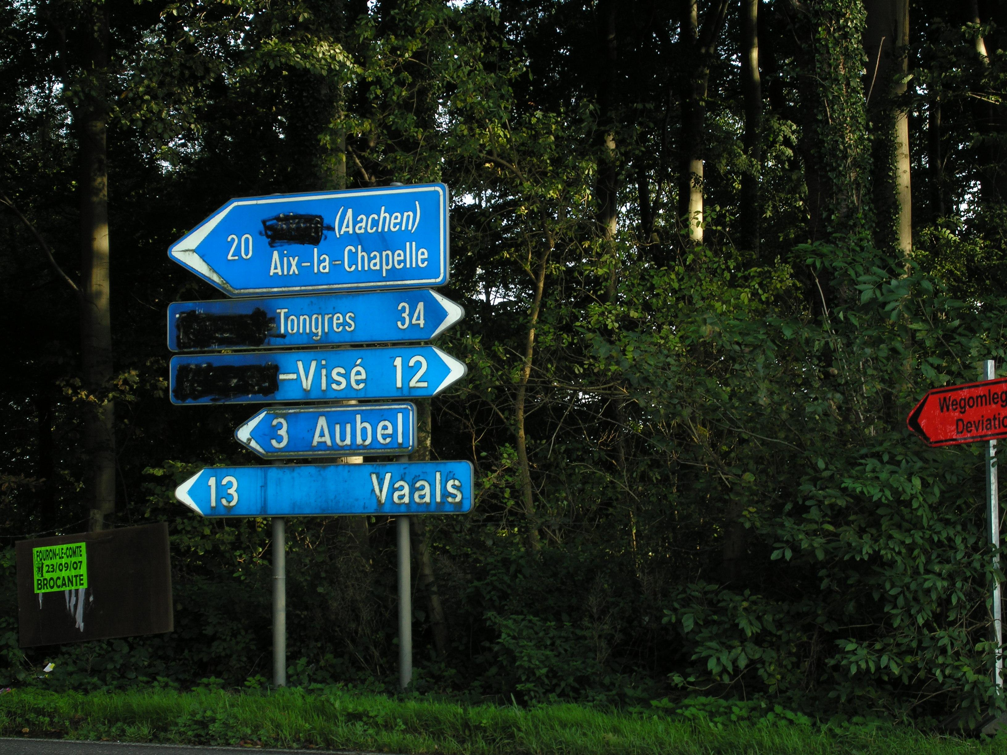 Taalstrijd in Belgie