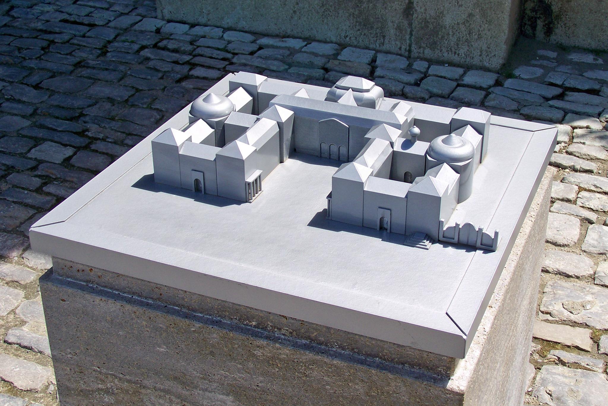 Modell der Würzburger Residenz