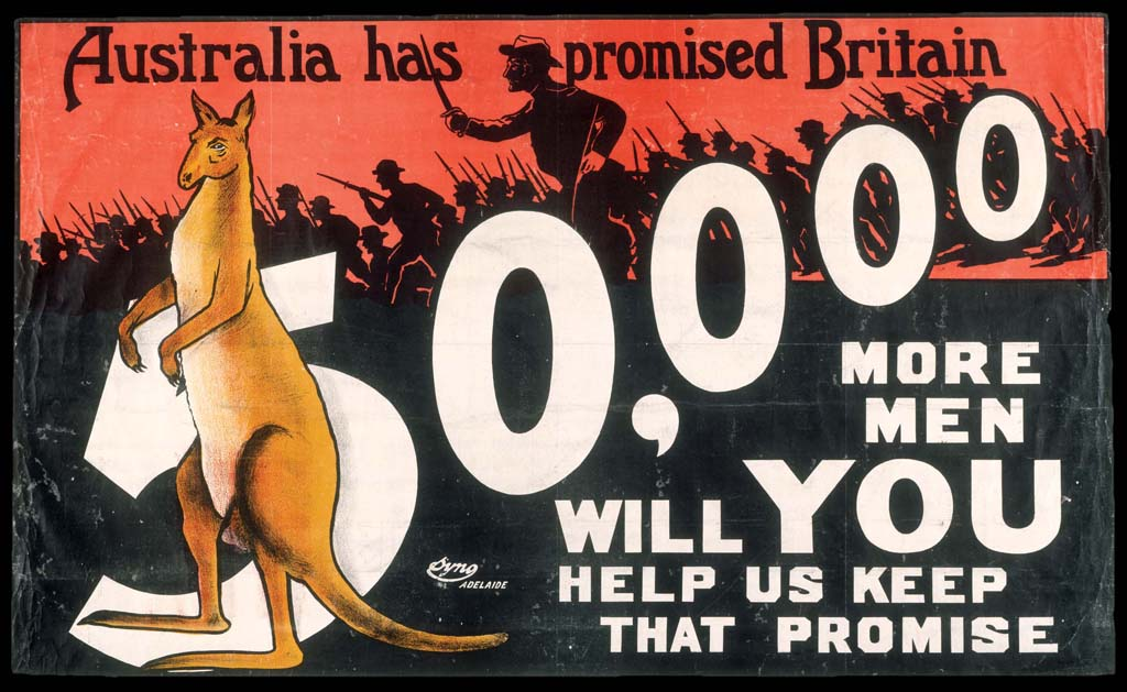 why did australia become involved in world war 1