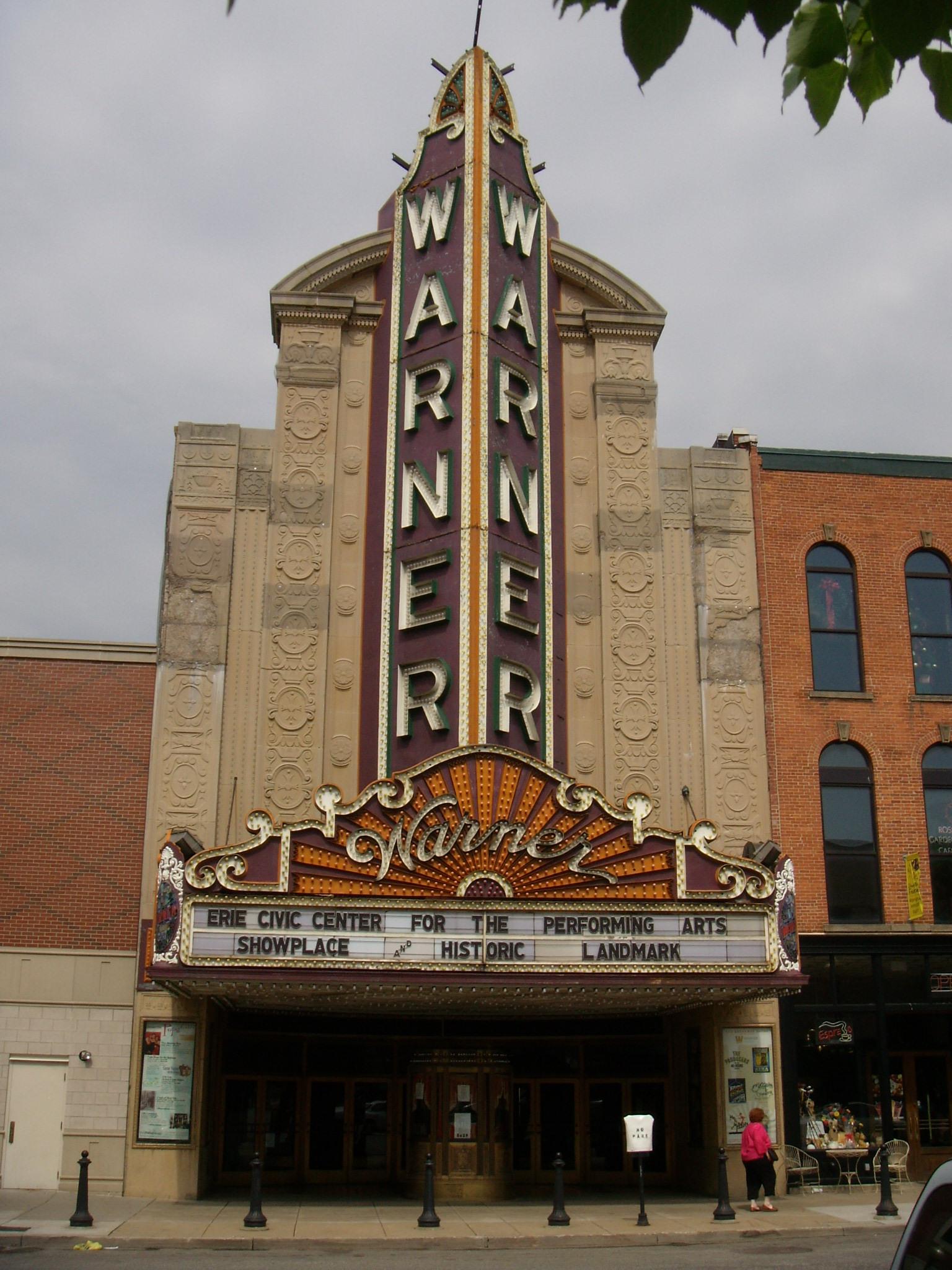 Warner Theatre Erie Pennsylvania Wikipedia