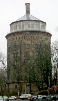 Berlin Prenzlauer Berg, Wasserturm.