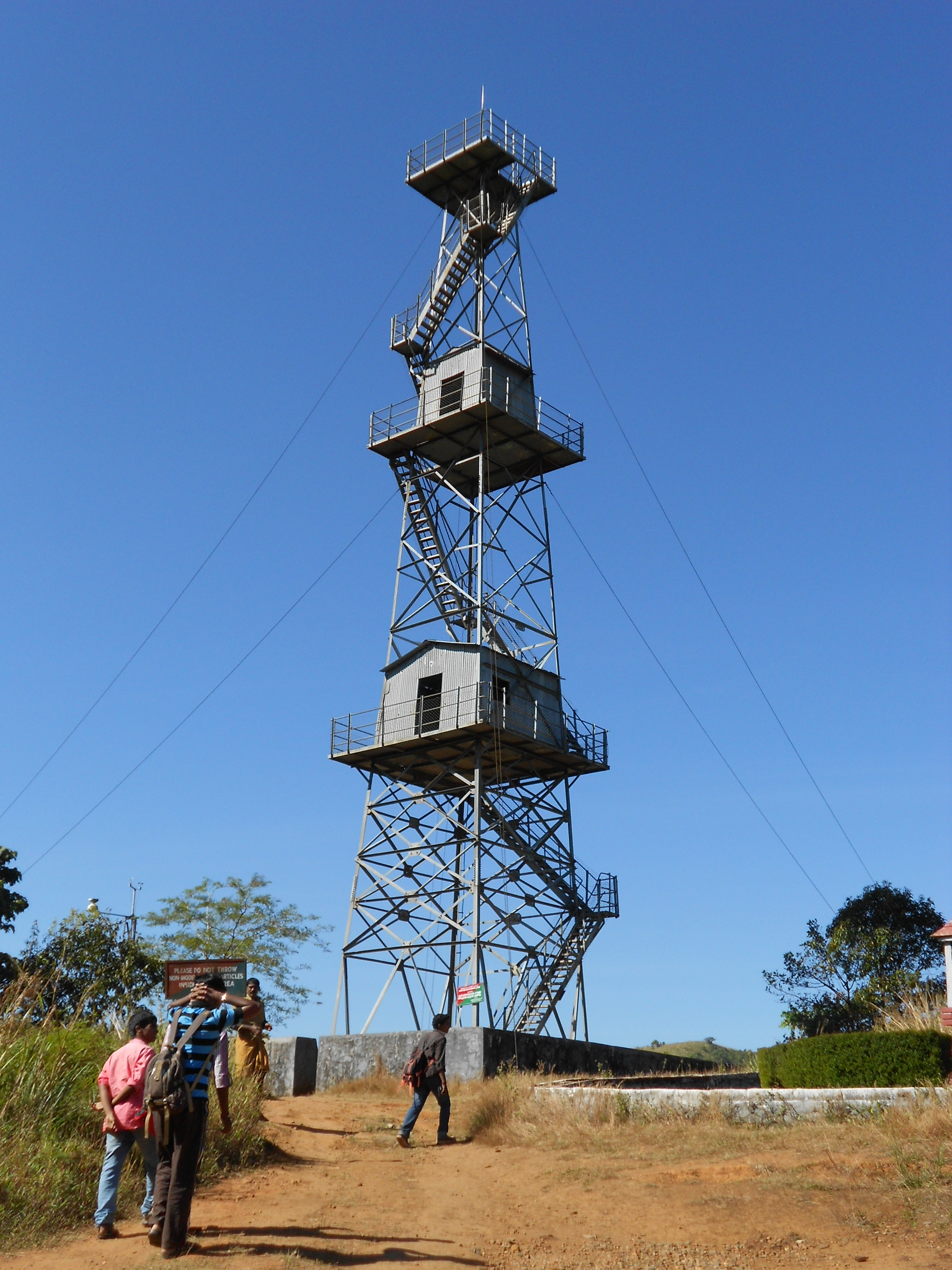 File:Watch Tower @ Silent Valley National Park. Kerala ...