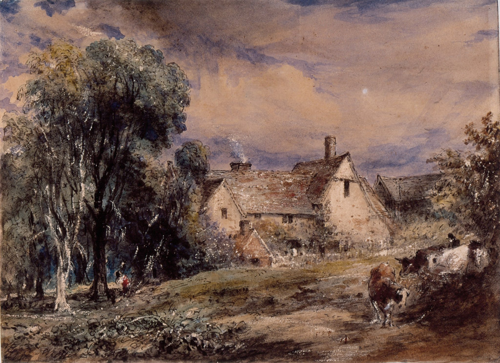 File Water Street Hampstead By John Constable Watercolor