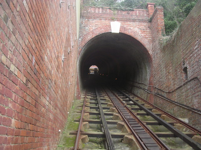 Cars On Line >> West Hill Cliff Railway - Wikipedia