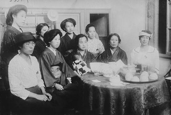 Women's Rights meeting in Tokyo, to push for women's suffrage Woman's Rights Meeting Tokyo.jpg