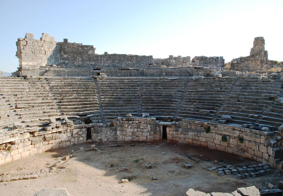 Театр древней греции доклад кратко 2363