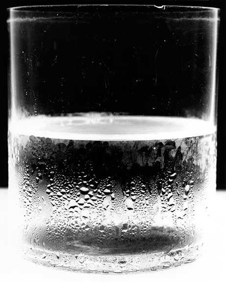 Hydration is essential for anyone coping with COPD.