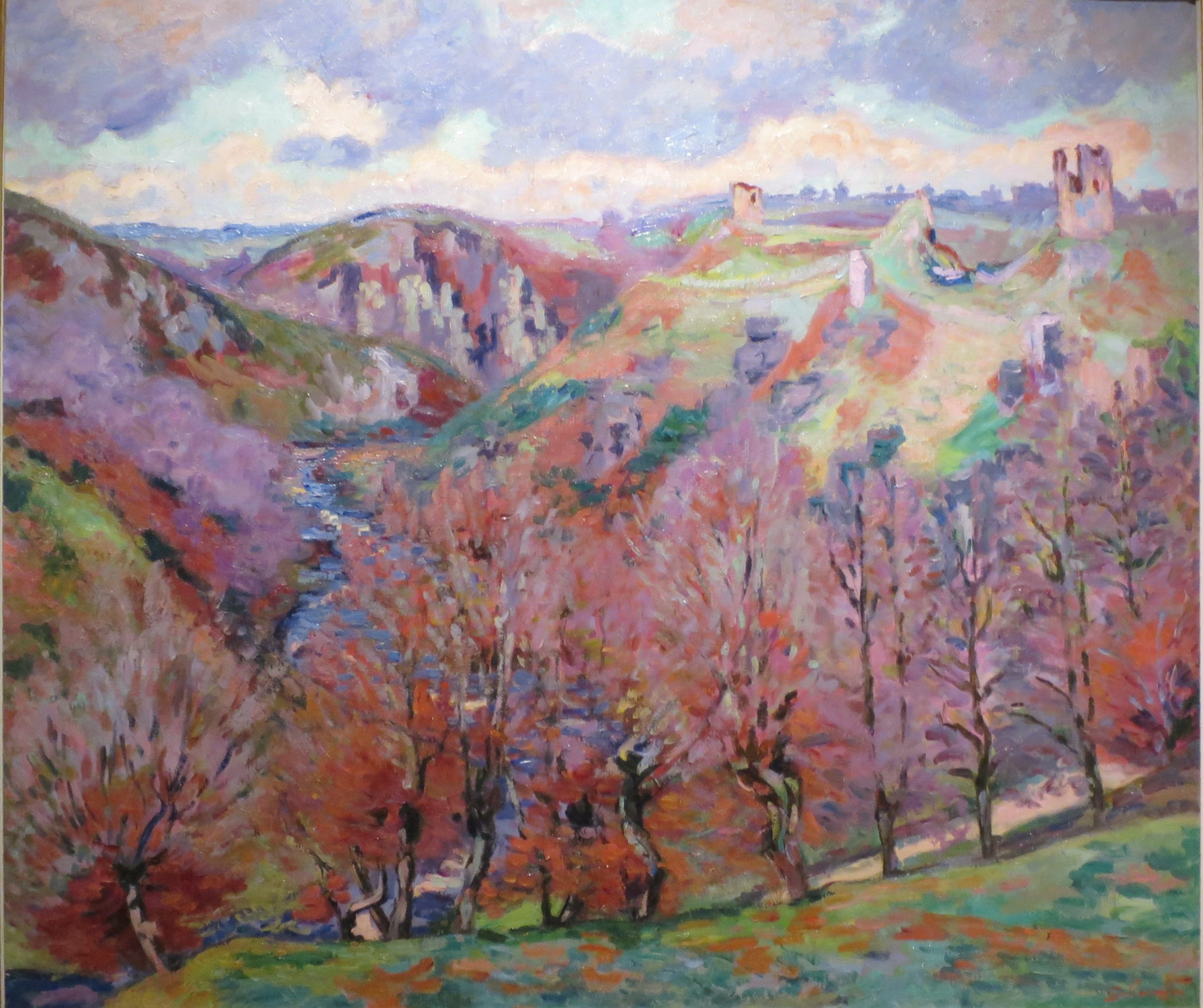 Armand Guillaumin Sunset At Ivry