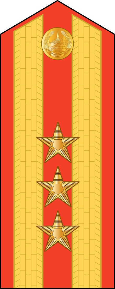 Military ranks of the Lao People's Armed Forces | Military