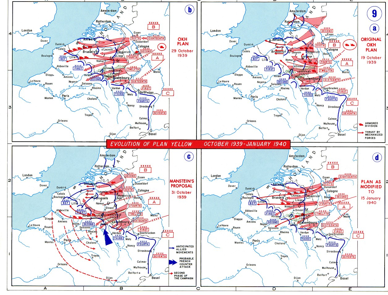Case Yellow, Case Red and Sealion 1939-1940-battle_of_france-plan-evolution