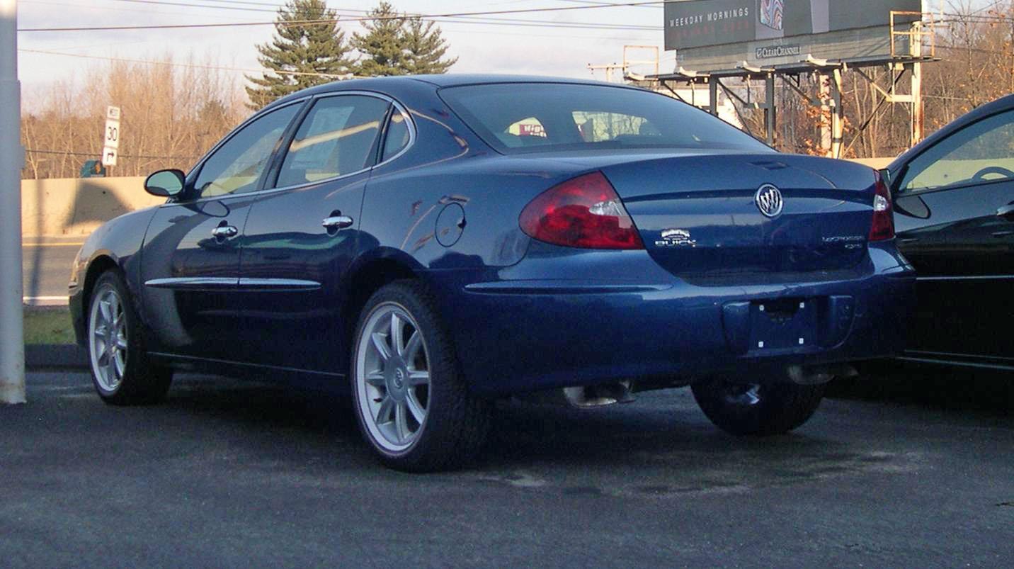 2007 Buick Lucerne Black >> File:2006 Buick LaCrosse rear.jpg - Wikimedia Commons