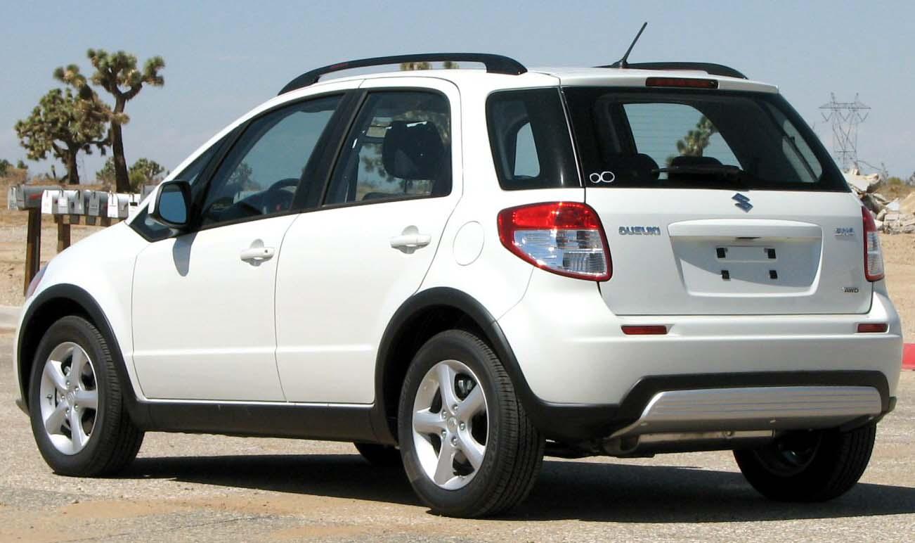 Suzuki Sx  Wheel Drive