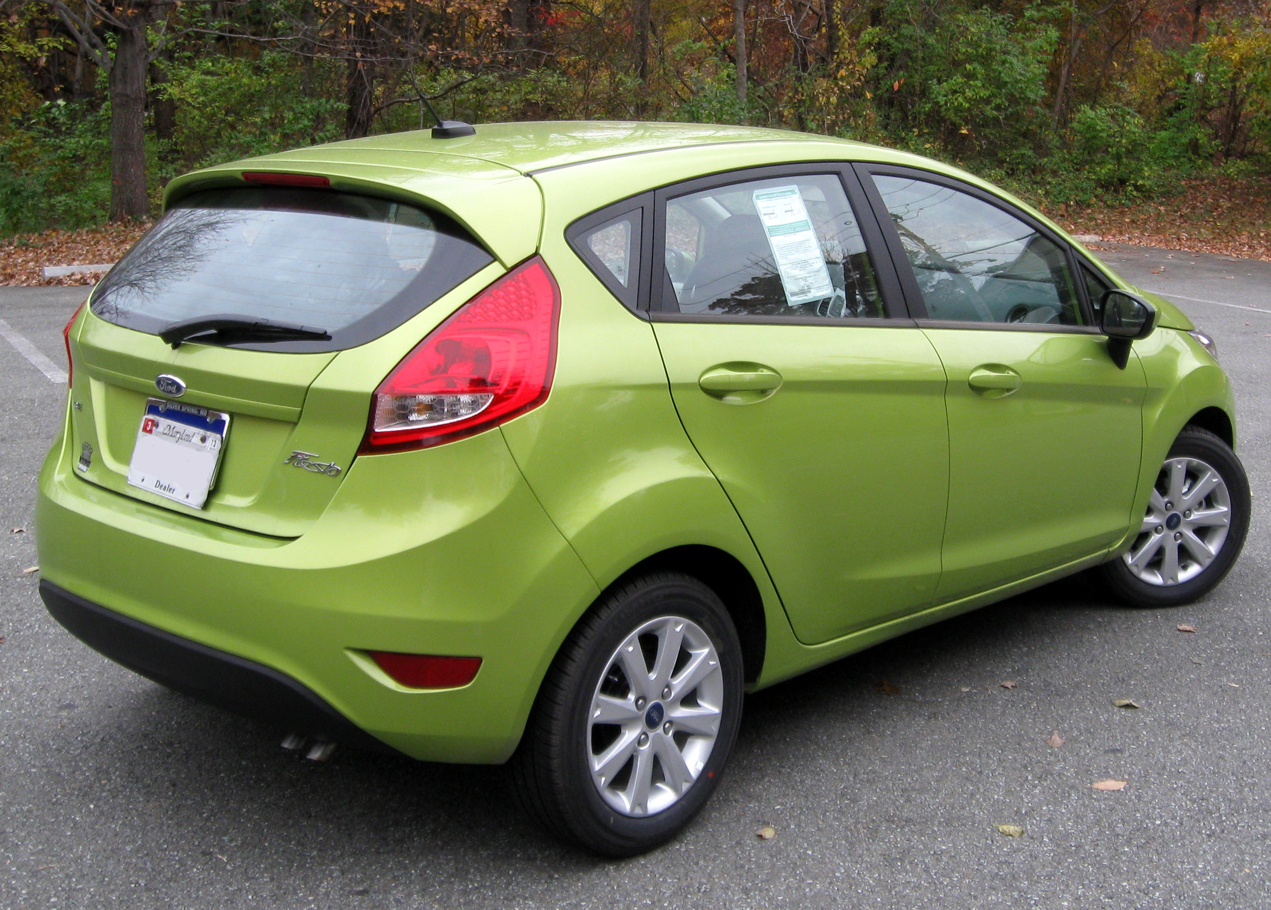 Ford Festiva Picture 2012 Fiesta SE Hatch 11 1