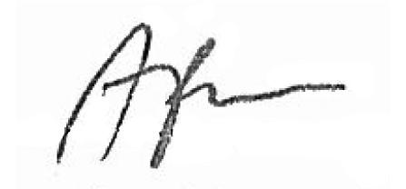 Adam Bielan signature