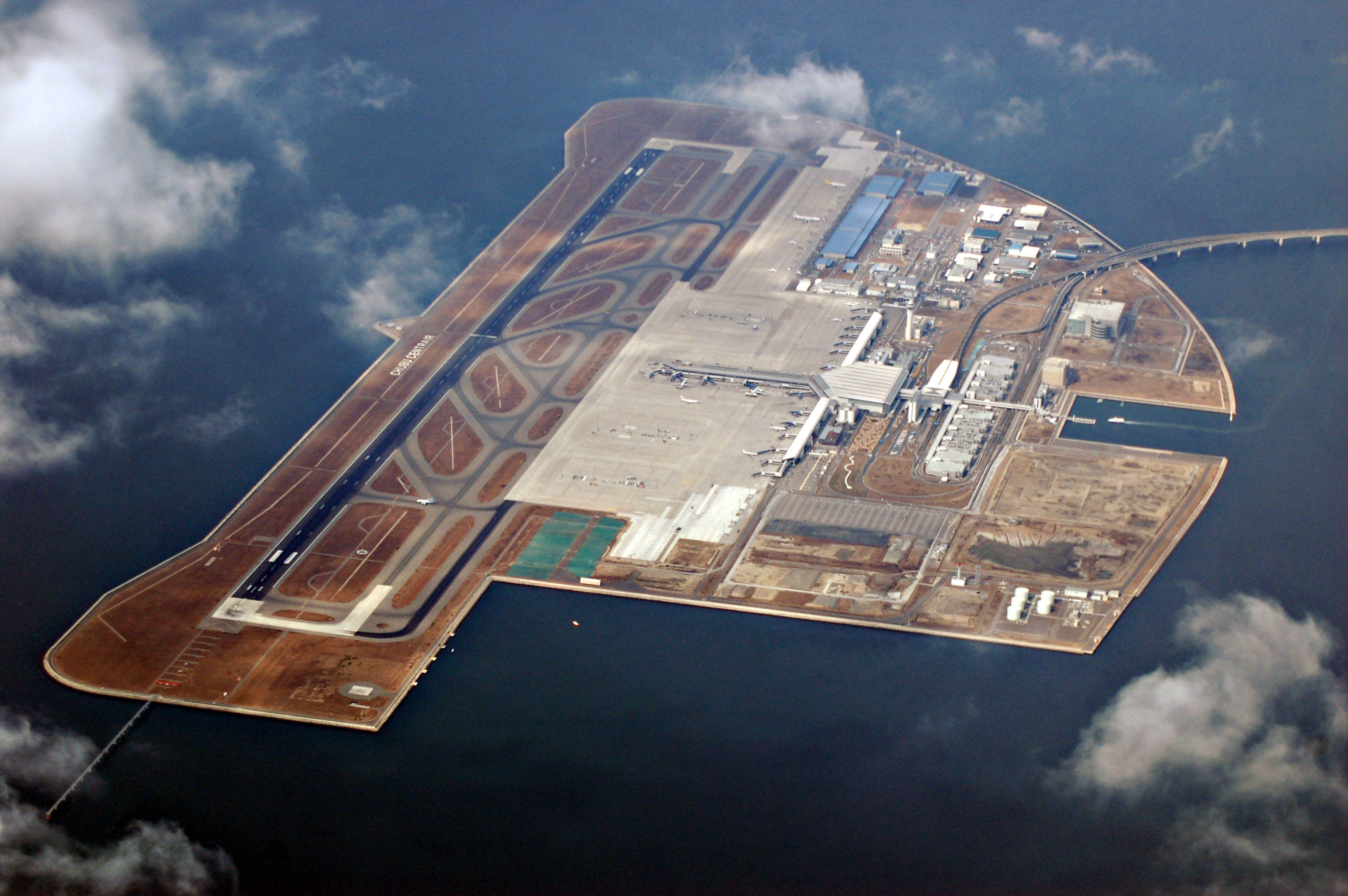 File Aerial Photograph Of Chubu International Airport At