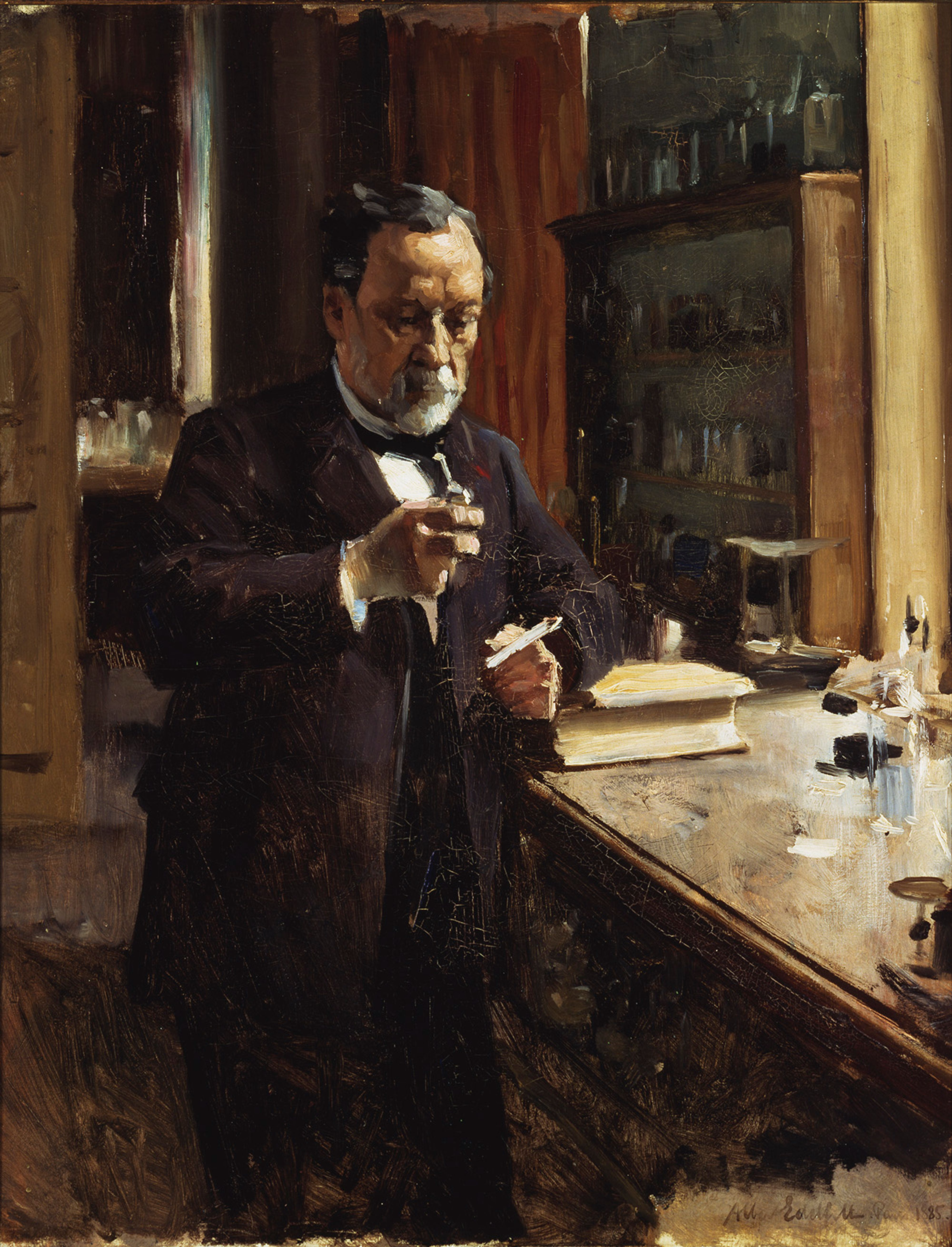 the works of louis pasteur In this spirit of giving thanks this holiday season, we will explore the history of  vaccines and the work of the 19th century pioneer louis pasteur,.