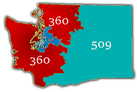 Marysville Wa Zip Code Map.Area Code 360 Wikipedia