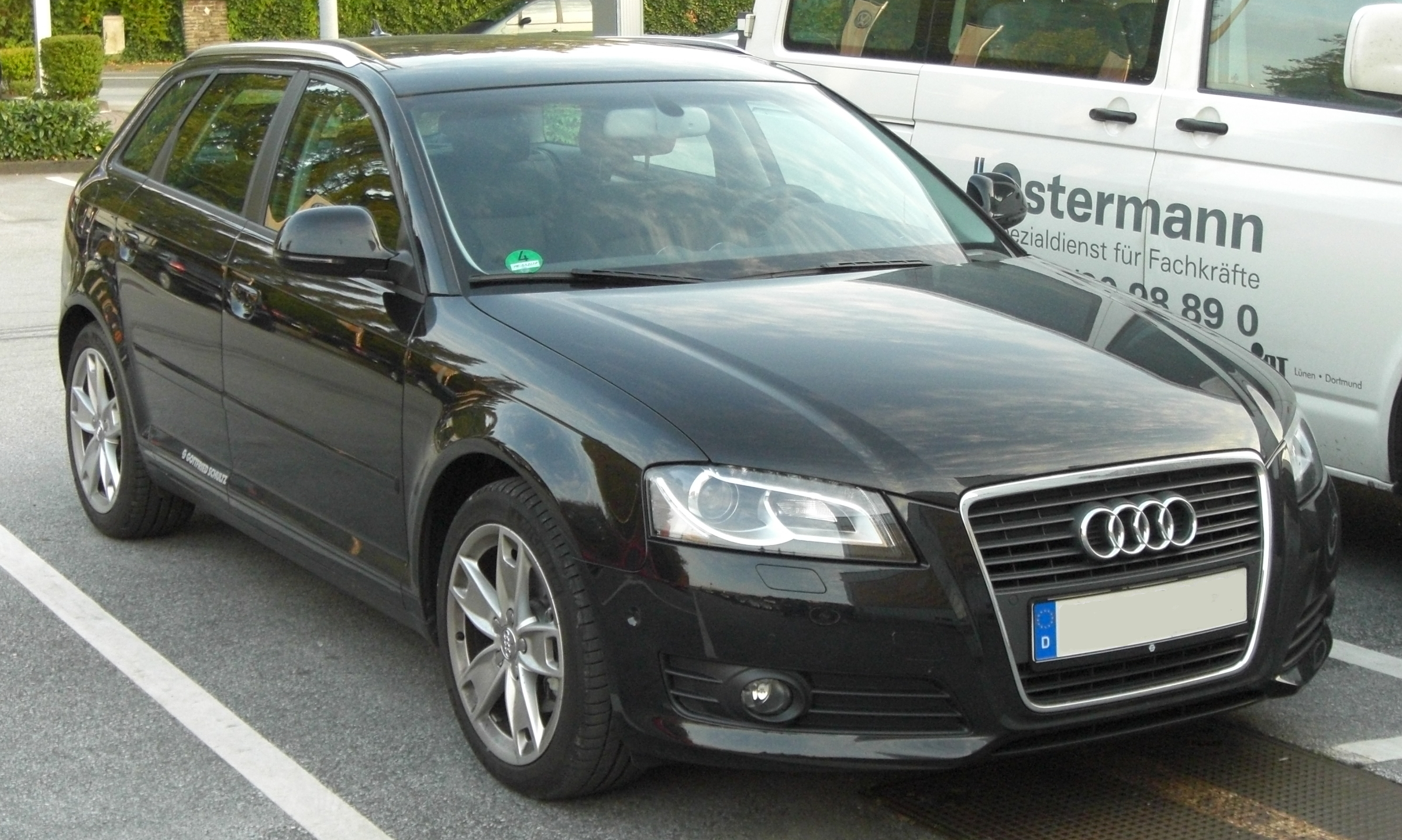 file audi a3 sportback 2 0 tdi facelift front jpg. Black Bedroom Furniture Sets. Home Design Ideas