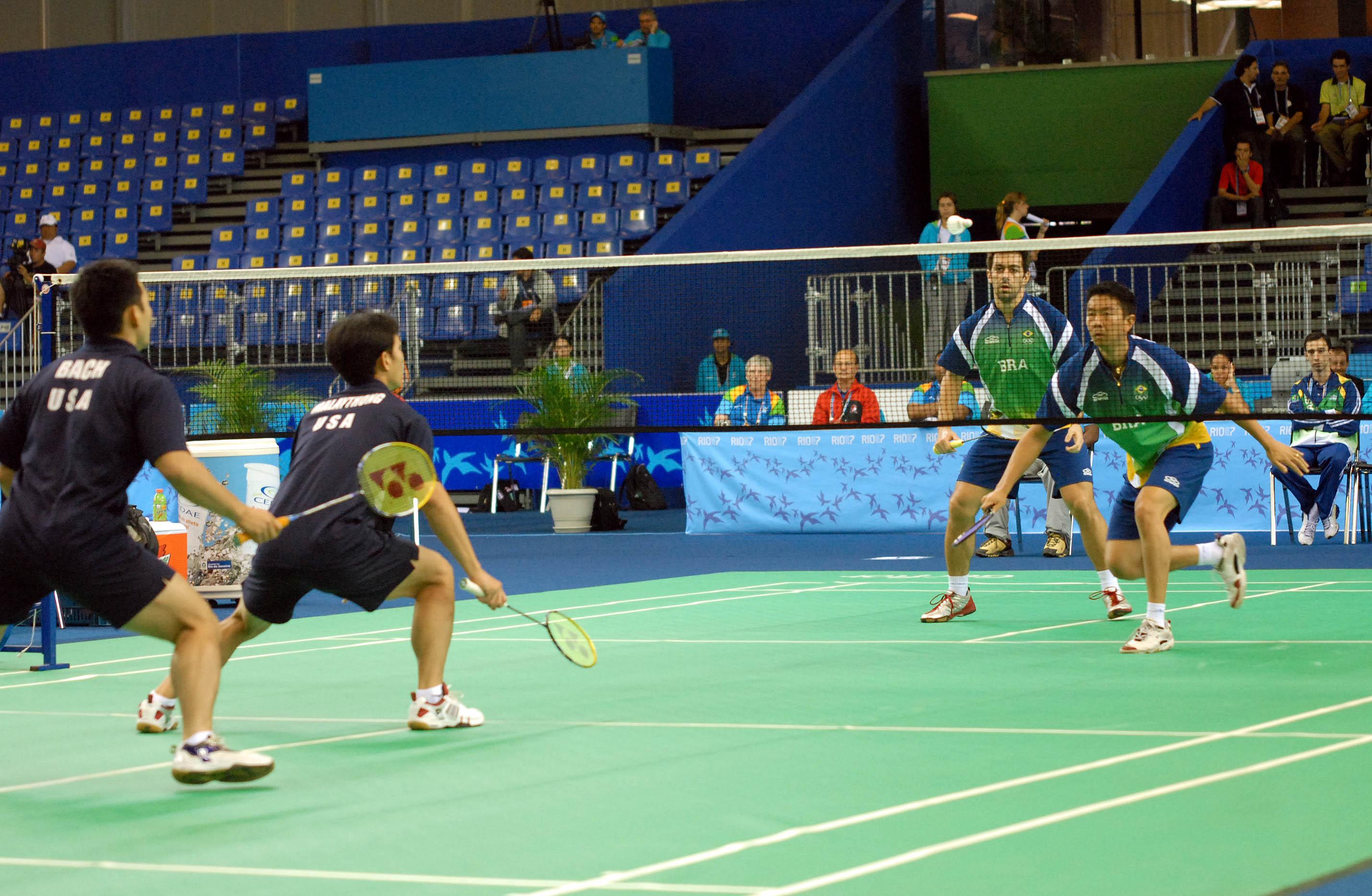 File:Badminton Semifinal Pan 2007.jpg - Wikimedia Commons Badminton