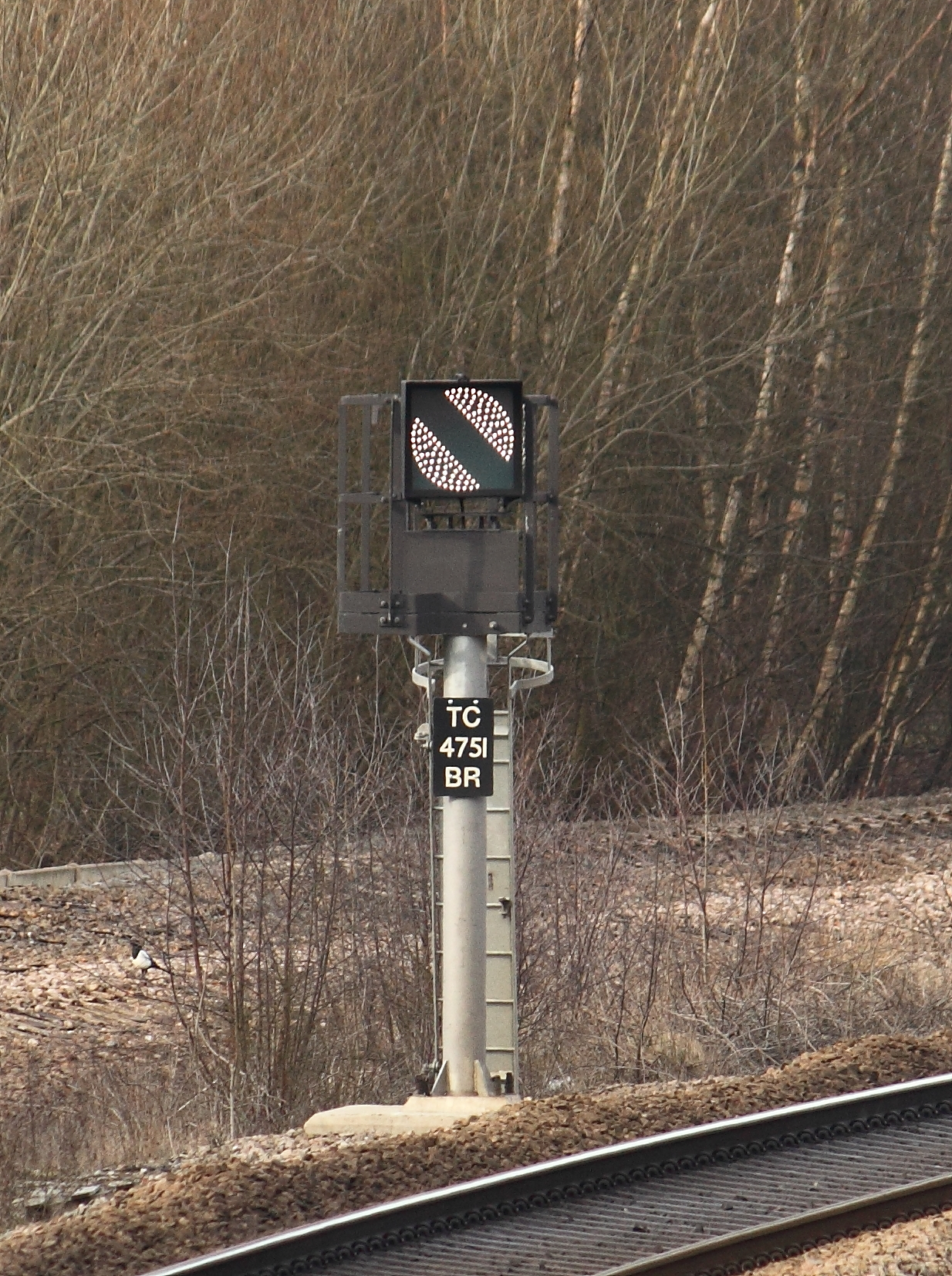 File:Banner repeater signal , North Wingfield.jpg ...