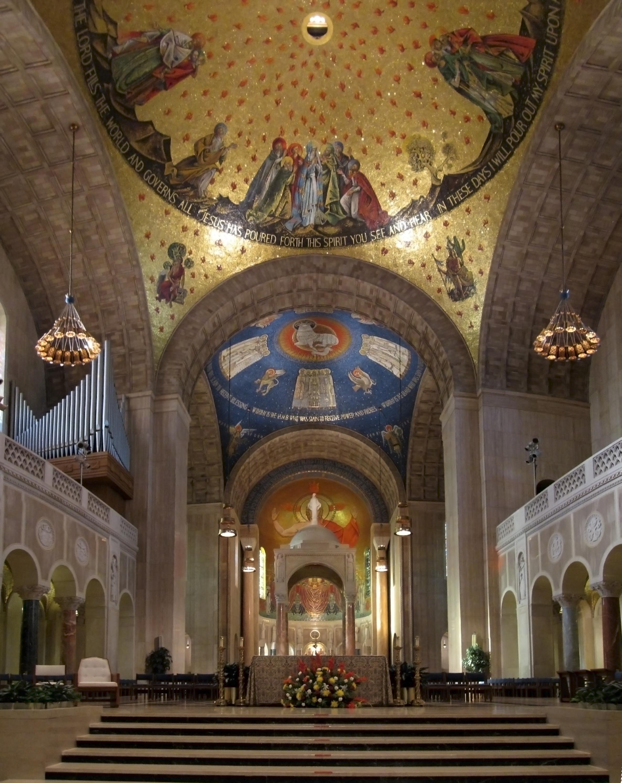 File basilica national shrine immaculate for Conception piscine