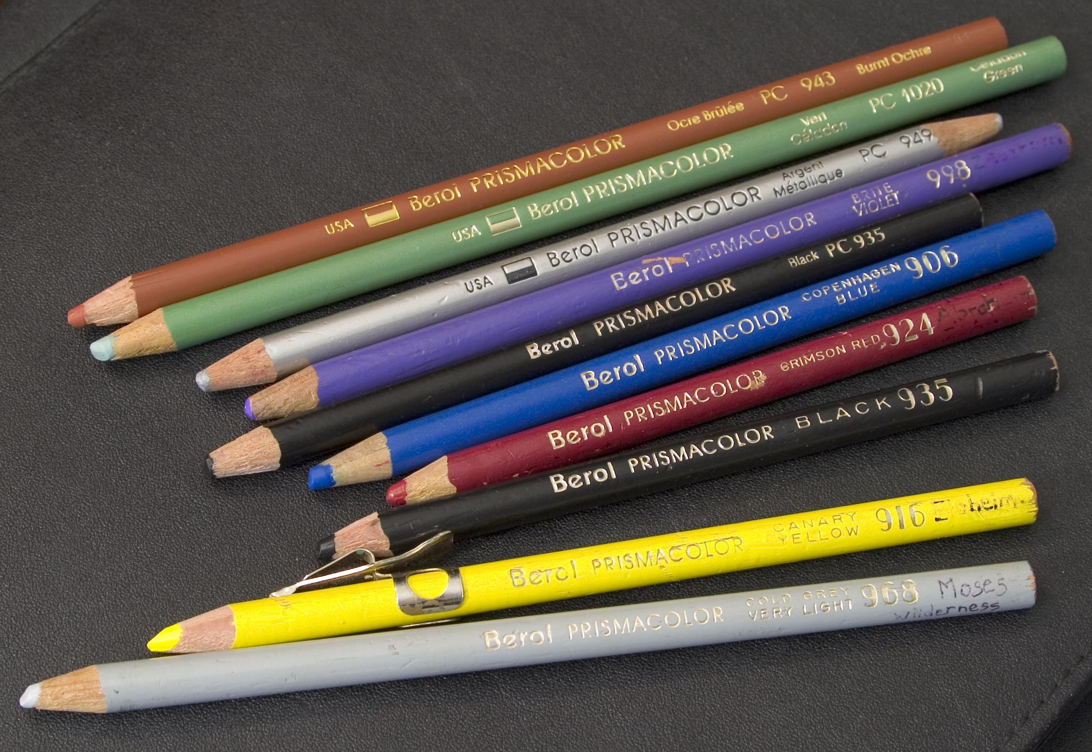 File:Berol prismacolor pencils.jpg Eagle