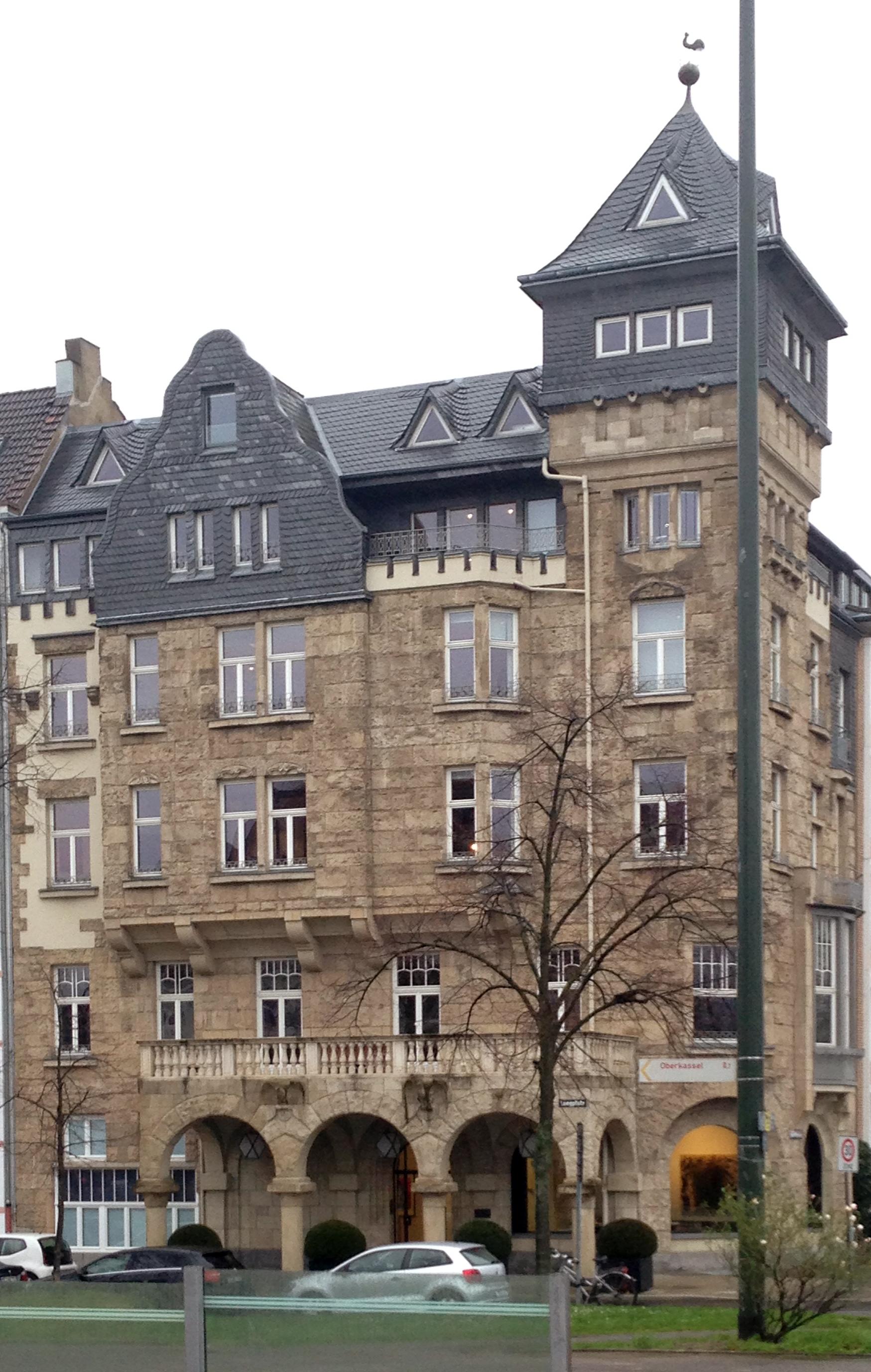 Kaiser Friedrich Ring Düsseldorf file brückenschlösschen kaiser friedrich ring 1 düsseldorf