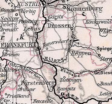 Bildergebnis für frankfurt (oder) slubice landkarte