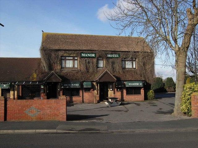 File Bridgemary Manor Hotel Geograph Org Uk 1141671 Jpg