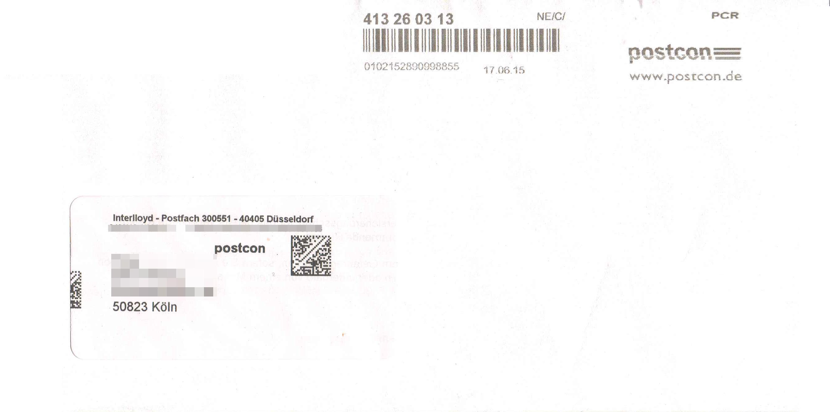 Datei briefumschlag innerdeutscher versand mit postcon for Versand deutschland