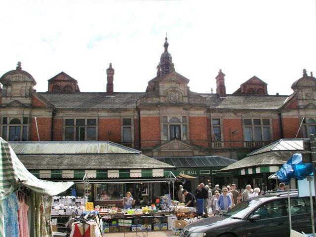 Burton Market - geograph.org.uk - 853525
